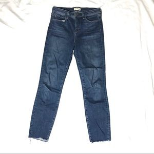 L'Agence Women's Frayed Hem Skinny Jeans size 26